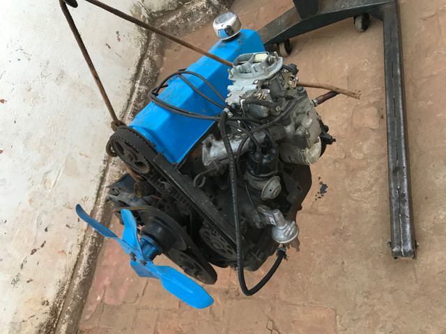 Motor Ford f100/ Maverick/ jeep Willie 4cil Oportunidade!!