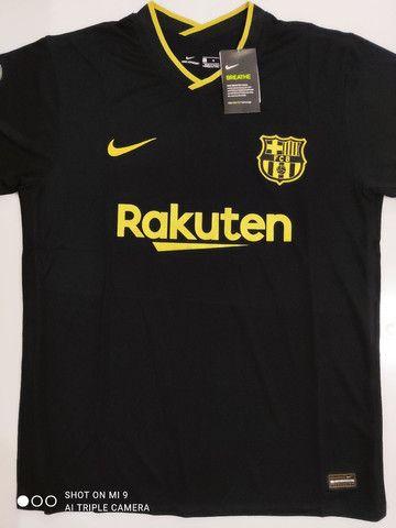 Camisa Barcelona Reserva Nike 20/21 - Tamanhos: P, M, G