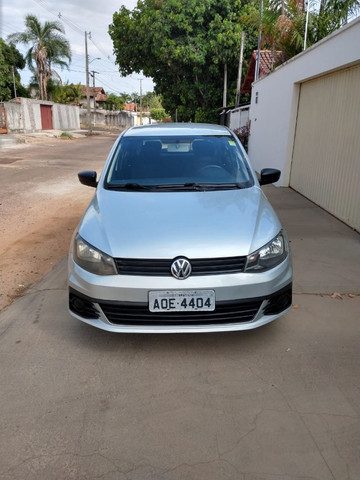 Volkswagen Novo Gol - Trend Line - 2016/2017 - Cor Prata - 4 portas - Foto 2