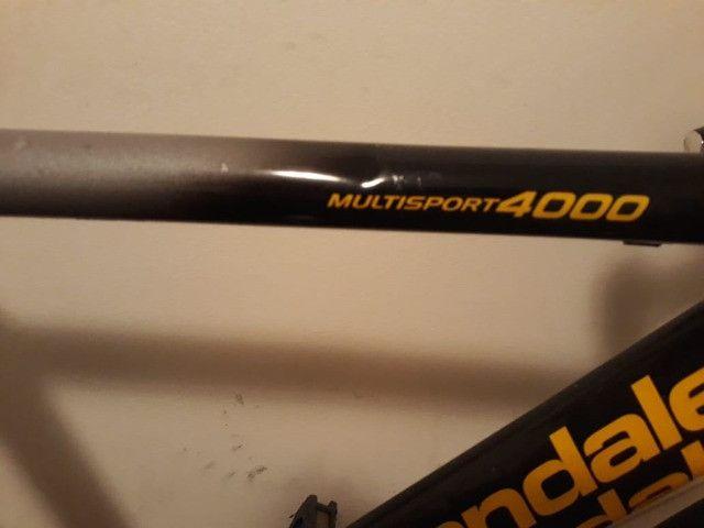 Bicicletas Speed Cannondale Usada - Foto 5