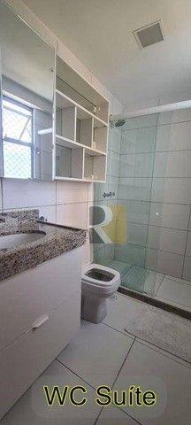 Apartamento com 3 dormitórios à venda, 100 m² - Pedro Gondim - João Pessoa/PB - Foto 11