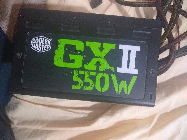fonte cooler master GXII 550w 80 plus bronze