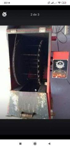 Churrasqueira giratória de espetinhos  - Foto 3