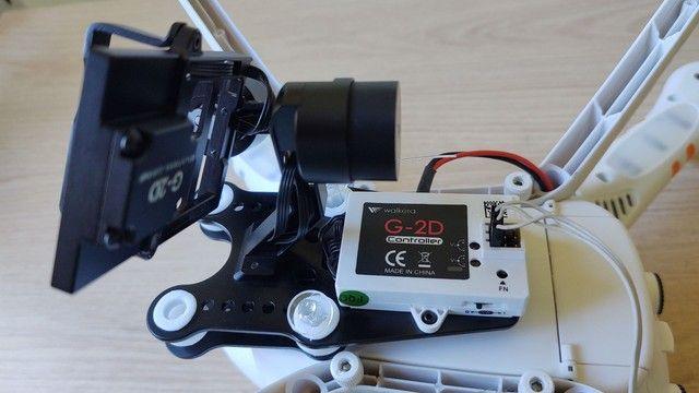 Drone Walkera Qr X350 Pro + Gimbal 2d + 2x Baterias 5200 3s - Foto 3
