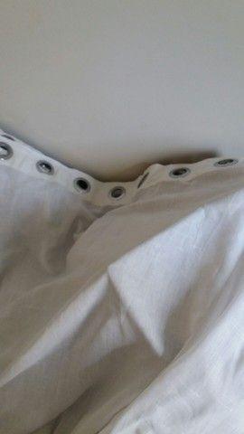 Cortina de Voip branca - Foto 2