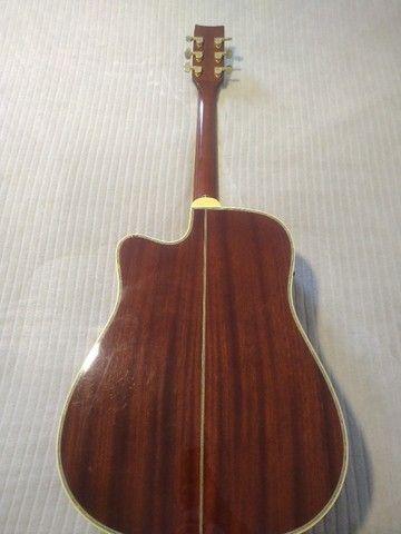 Violão 6 cordas Folk Eagle CH-889. ESTUDO TROCA - Foto 4