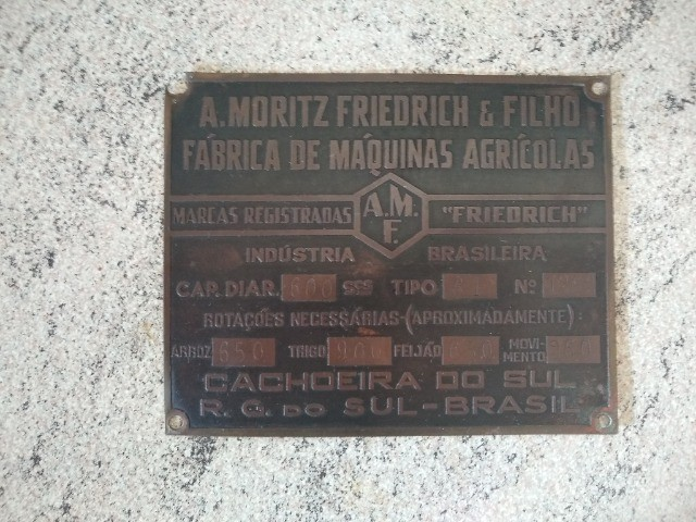 Placa de Metal Antiga - RELÍQUIA - Foto 5