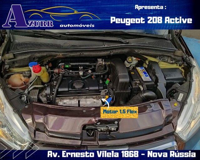 PEUGEOT 208 ACTIV COMPLETO 1.5 FLEX REVISADO GARANTIA BAIXA KM IMPECÁVEL   - Foto 17