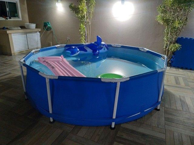 Piscina Intex 6500 litros - Perfeita - Foto 3