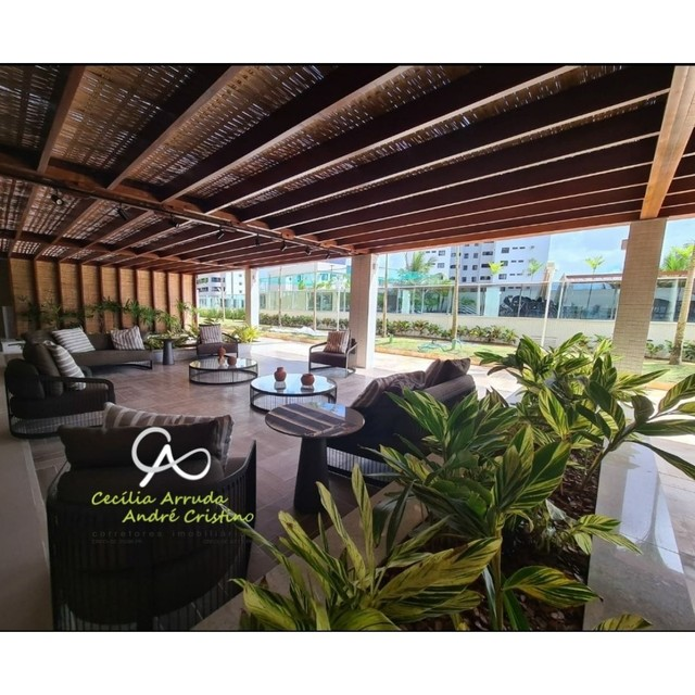 apartamento 4/4 suítes, varanda gourmet, vista livre permanente, Jardins, Aracaju/SE - Foto 10