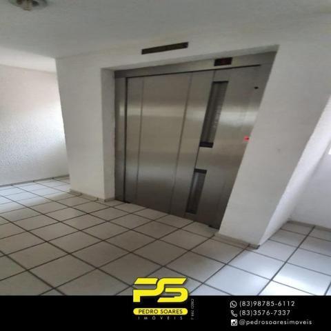 (ALUGO) Apartamento com 2 dormitórios para alugar, 67 m² por R$ 2.100/mês - Cabo Branco -  - Foto 3