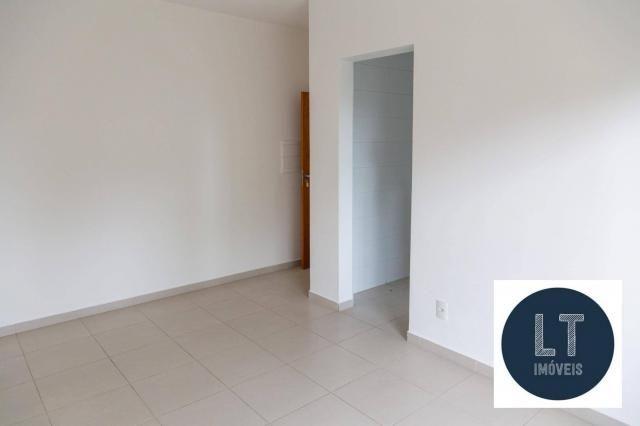 Apartamento com 2 dormitórios à venda, 64 m² por R$ 195.000,00 - Parque São Luís - Taubaté - Foto 3