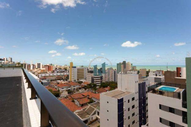 Apartamento com 2 dormitórios à venda, 59 m² por R$ 420.000 - Cabo Branco - João Pessoa/PB - Foto 17