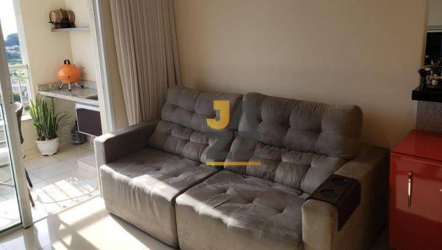Lindo apartamento com 2 dormitórios e closet à venda, 73 m² por R$ 450.000 - Vila Brasil - - Foto 4