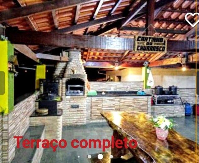 Casa 03 Qtos Suíte Hidro no Sapucaias II Contagem Aceito Troca - Foto 3