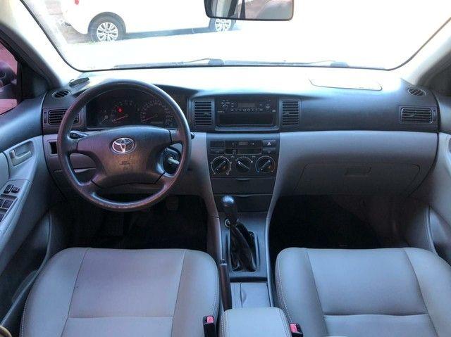 Super oferta Toyota Corolla Xei 1.8 - ano 2005 completo impecável  - Foto 2