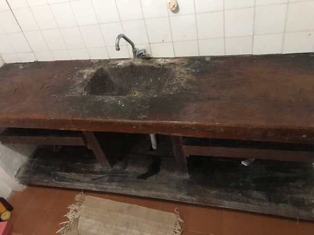 Pia de banheiro  de zanini  calda autêntica  é uma Perede  - Foto 3