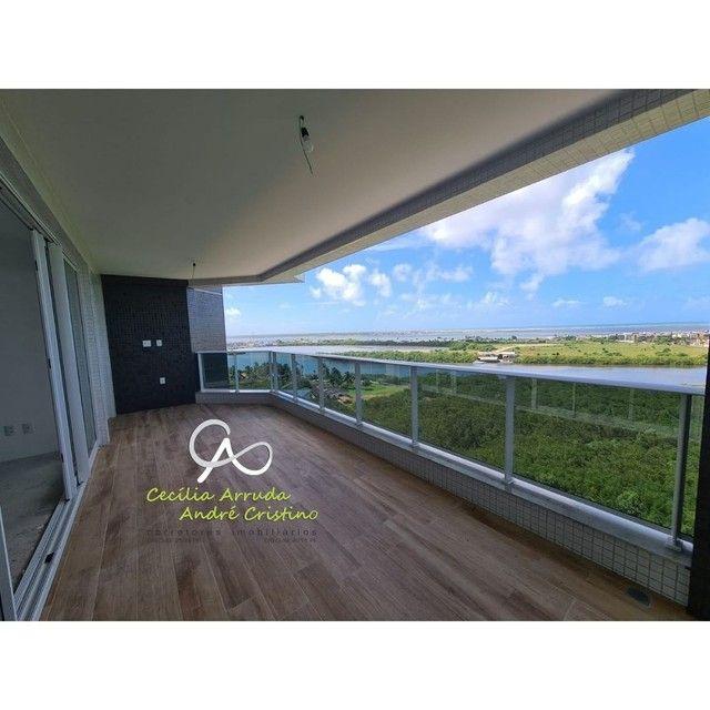 apartamento 4/4 suítes, varanda gourmet, vista livre permanente, Jardins, Aracaju/SE - Foto 4