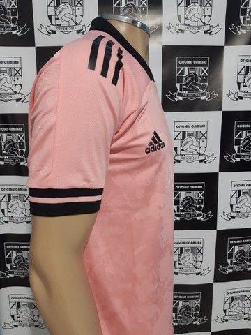 R$160,00 Camisa Inter Rosa Tam M e GG - Foto 4