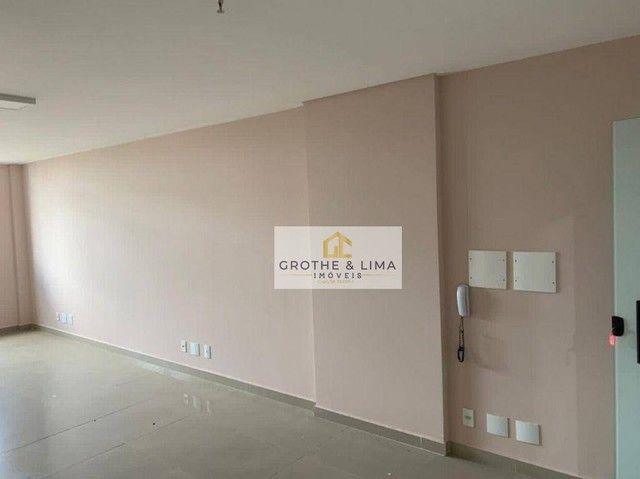 Linda sala comercial 44m², 2 banheiros no centro de São José dos Campos - SP - Foto 2