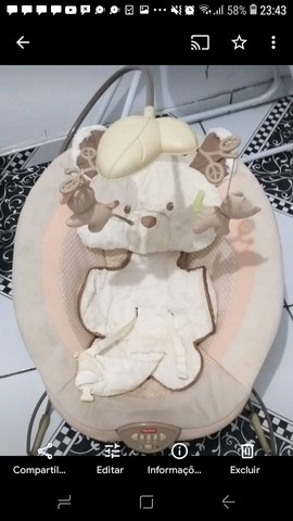 Cadeirinha de descanso para bebe - Foto 2