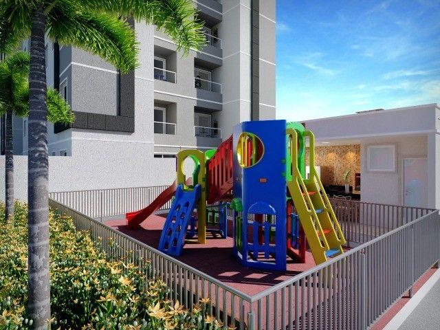 Porto Santiago MRV 2 dormitórios sacada com churrasqueira Protásio Alves - Foto 6