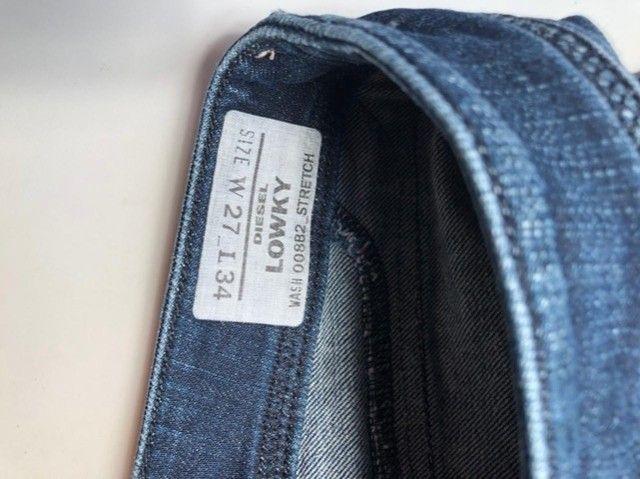 Calça jeans Diesel feminina  - Foto 3