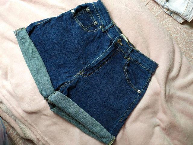 Shorts jeans tam 36 - Foto 5