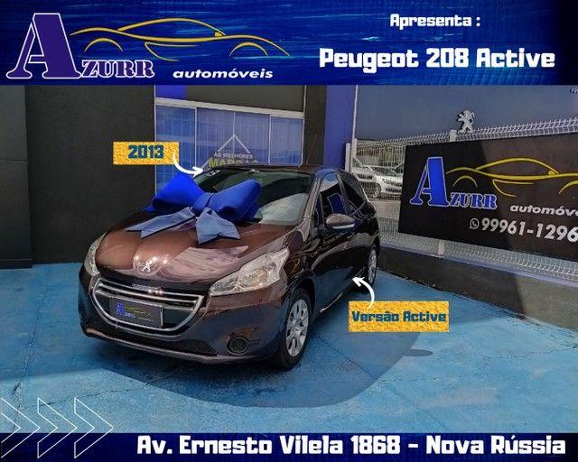PEUGEOT 208 ACTIV COMPLETO 1.5 FLEX REVISADO GARANTIA BAIXA KM IMPECÁVEL