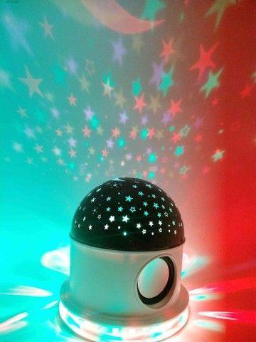 Abajur Luminária céu estrelado com Bluetooth ? ?:  - Foto 5