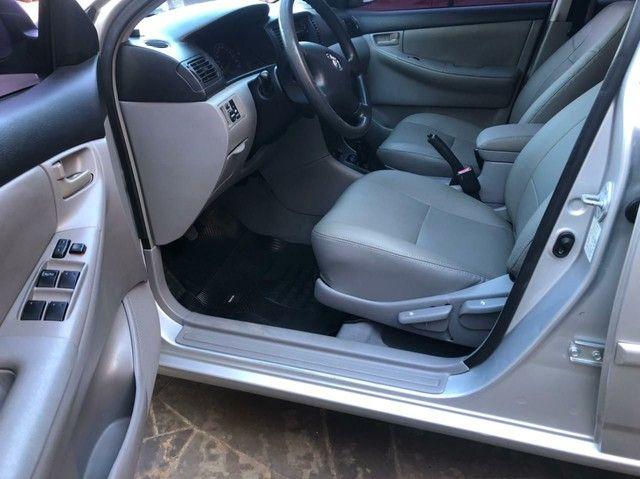 Super oferta Toyota Corolla Xei 1.8 - ano 2005 completo impecável  - Foto 6