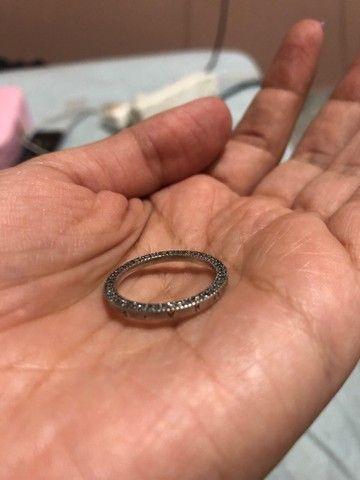 Vendo anel pandora prata 925 - Foto 3