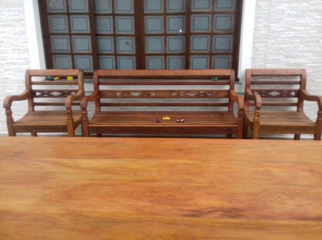 Móveis rústicos para varanda  - Foto 3