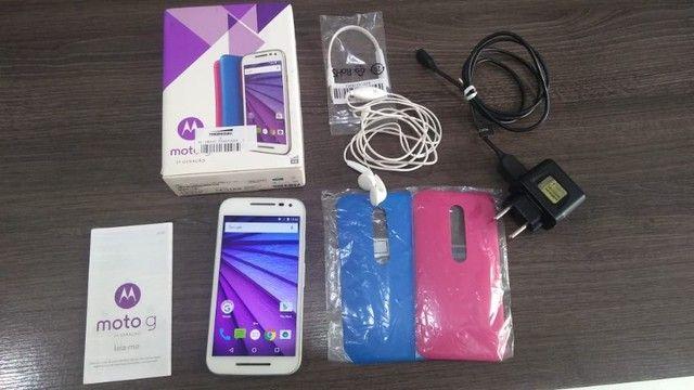 Smartphone Moto G? (3ª Geração) Colors 16GB XT-1543 - Branco