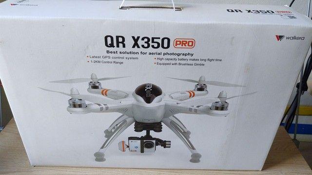 Drone Walkera Qr X350 Pro + Gimbal 2d + 2x Baterias 5200 3s - Foto 5