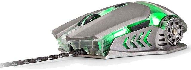 Super Mouse Gamer Mecanico Multilaser warrior keon mo268 top de linha - Foto 5
