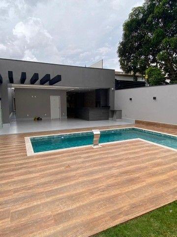 Casa de Alto Padrão, Dentro de Condomínio com 3 Suítes, Lazer em Vicente Pires. - Foto 8