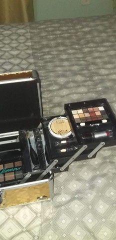 Maleta de maquiagem  - Foto 6