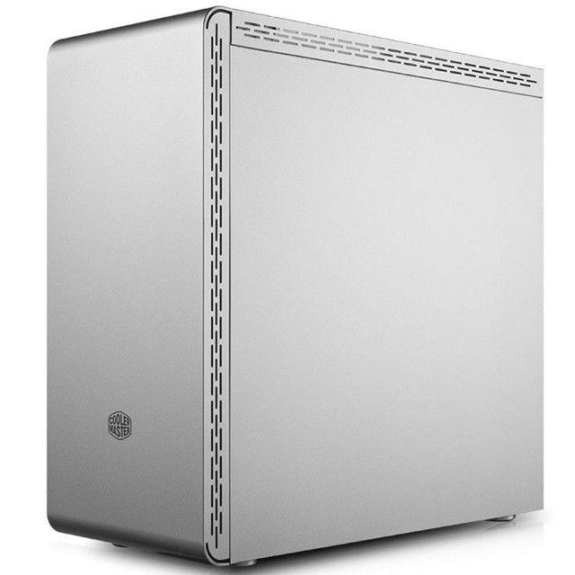 Gabinete Gamer Cooler Master MasterBox MS600 Vidro Temperado Branco - Loja Natan Abreu