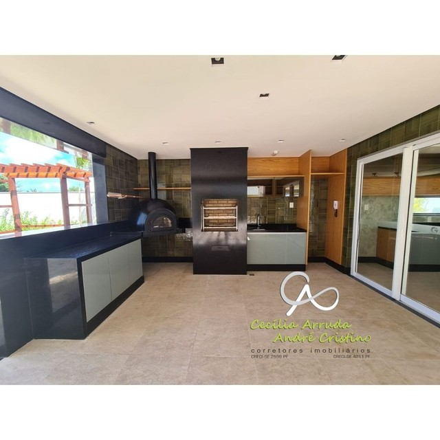 apartamento 4/4 suítes, varanda gourmet, vista livre permanente, Jardins, Aracaju/SE - Foto 15