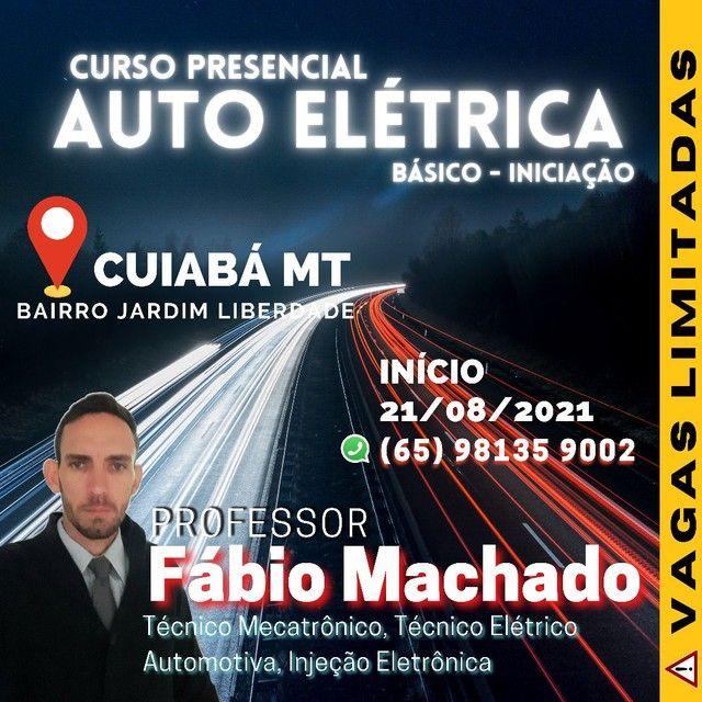 Curso de Presencial Auto Elétrica ( Presencial)