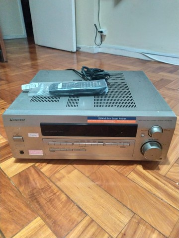 Receiver Pioneer Vsx D412 5.1 100w - Foto 2