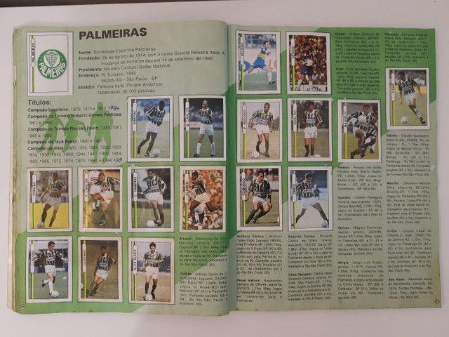 Album de figurinhas [quase] completo campeonato Brasileiro 1994 - Foto 3
