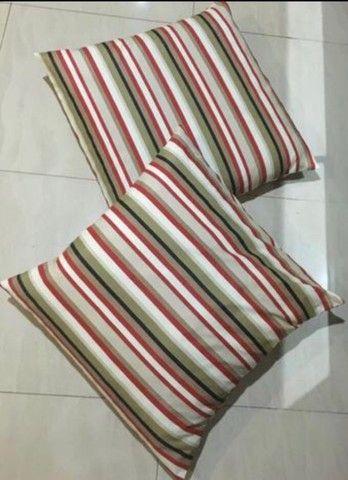 Almofadão para chão tam: 66:x64:cm e capas produtos novos C. Frio - Foto 2