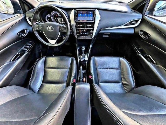 Toyota yaris XLS 1.5 Top de Linha + Teto Solar  - Foto 6