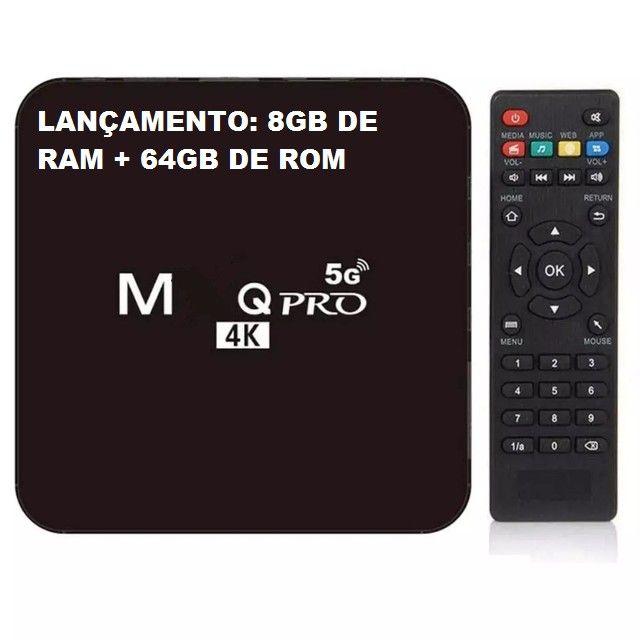 Tv Box 4k Wifi 5g 64gbRam 8g Última Geração 2021 Lançamento - Foto 2