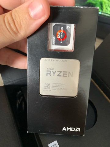 Ryzen 7 2700 + Cooler AMD RGB - Act. Cartão  - Foto 5