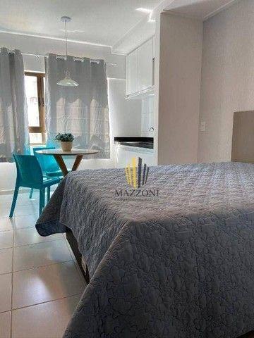 Edf. Costa das Palmeiras | Flat Mobiliado | 25m² | Nascente | 1 Vaga | Lazer Completo | R$ - Foto 3