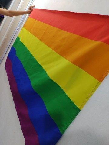 Bandeira do orgulho LGBTQIA+ diversidade
