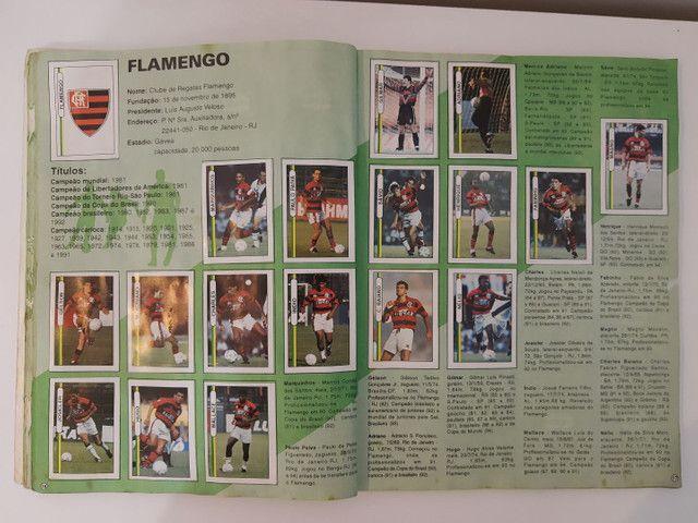 Album de figurinhas [quase] completo campeonato Brasileiro 1994 - Foto 5